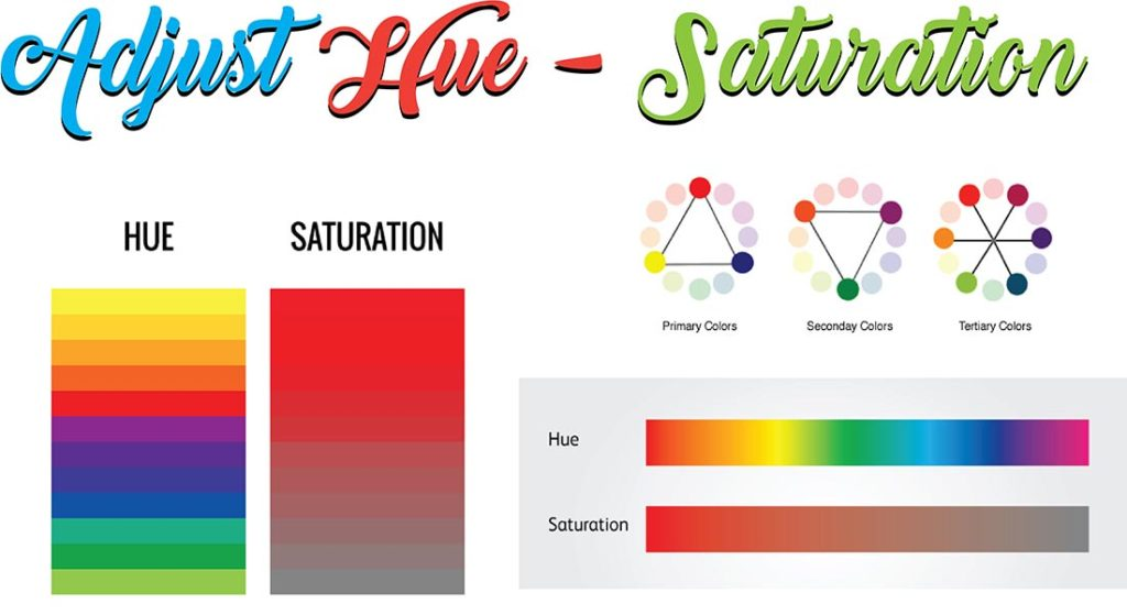 Adjust Hue Saturation | Clipping path eu