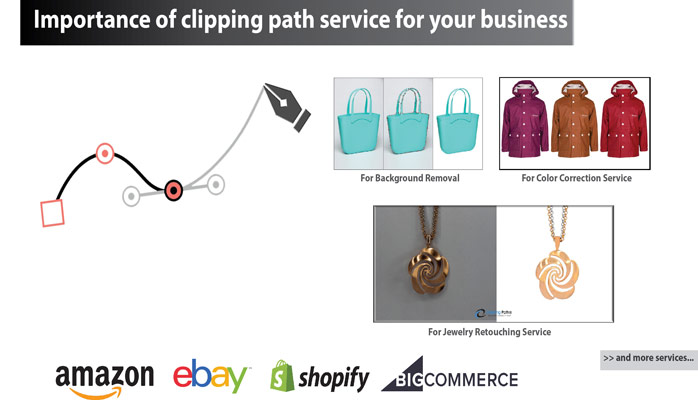 Clipping path job