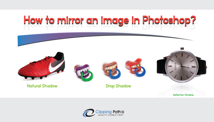 Mirror Effect banner | Clipping Path EU