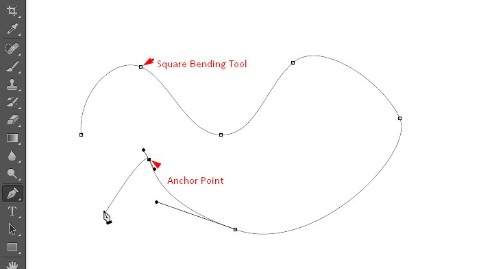 Square bending point | Clipping Path EU