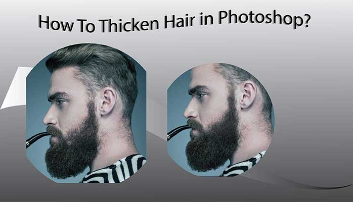 Thicken Hair Tutorial Feature image