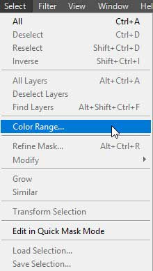 Color Range | Clipping Path EU