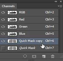 Copy-the-quick-mask-layer
