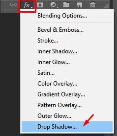 Drop-shadow-adding