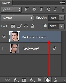 Background Copy layer