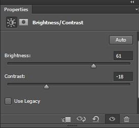 Brightness auto level