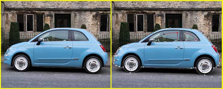 Car Image Clipping Path Service